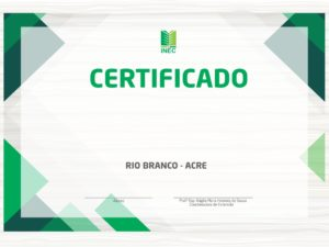 Impressão de Certificado Colorido